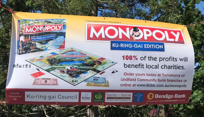 Kuringgai Monopoly Banner