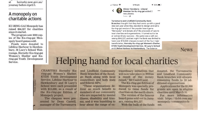 Monopoly NorthShore Times Article