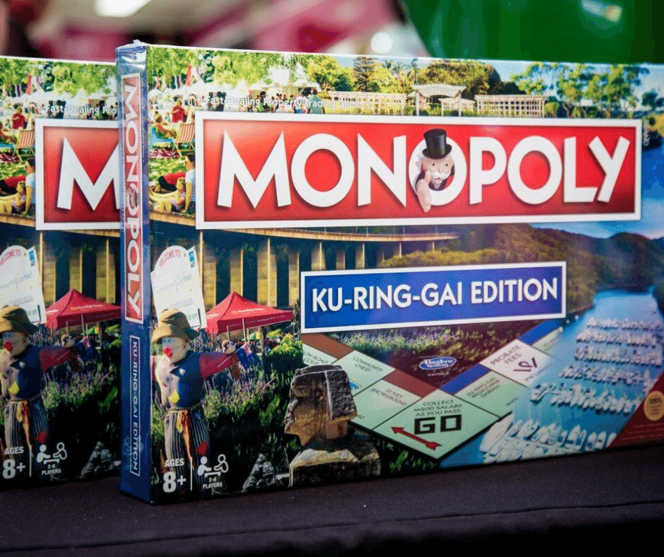 Picture of Ku-ring-gai Monopoly Board Game